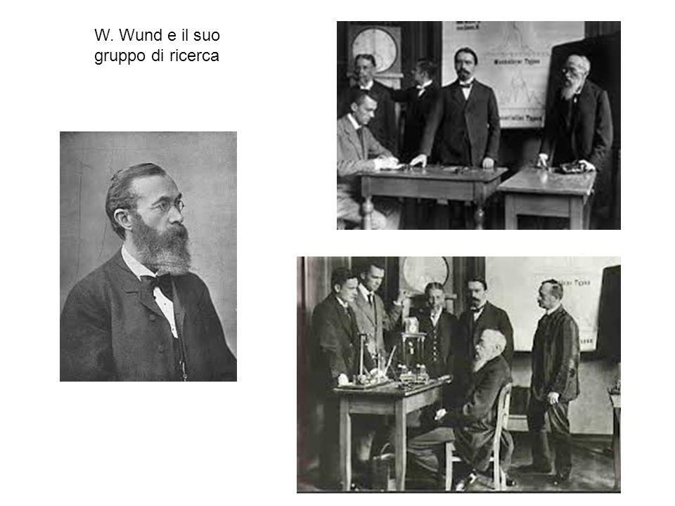 W. Wund e il suo gruppo di ricerca