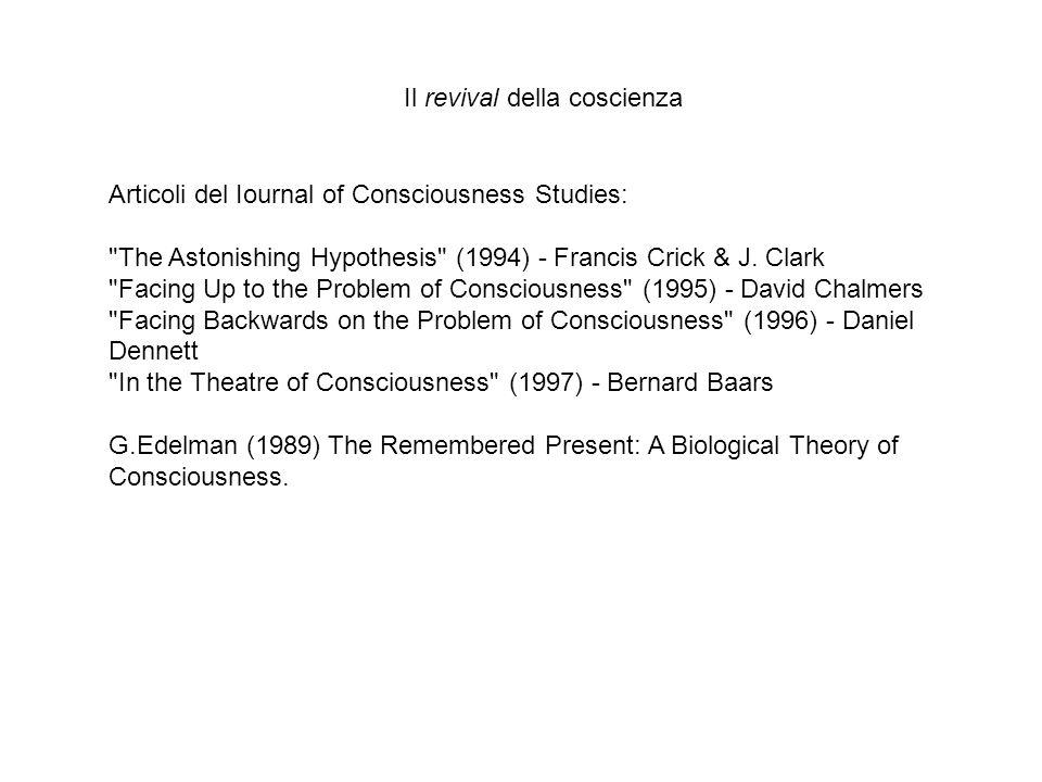 Articoli del Iournal of Consciousness Studies:
