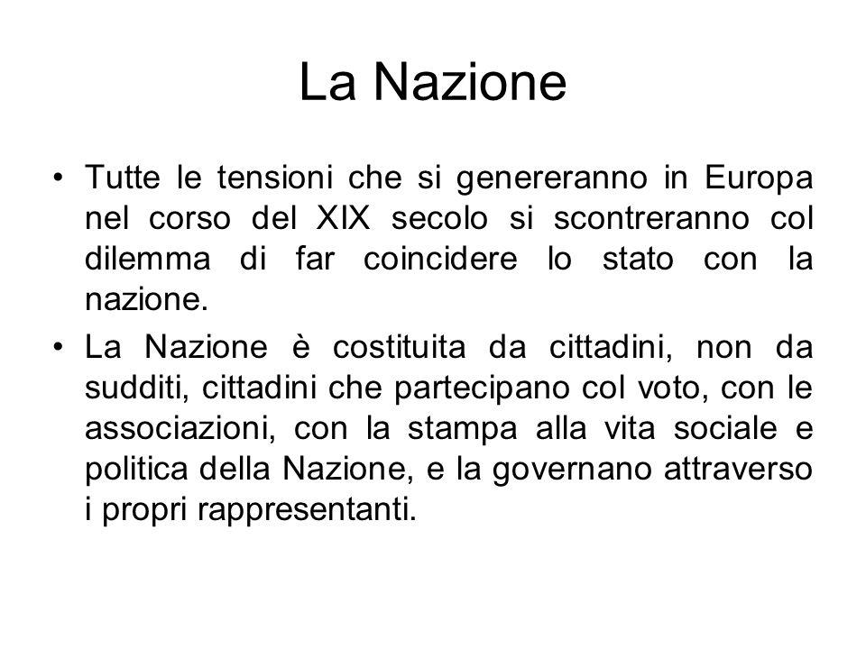 Le rivolte costituzionaliste Nel Lombardo-Veneto repressione preventiva che colpisce le società segrete.