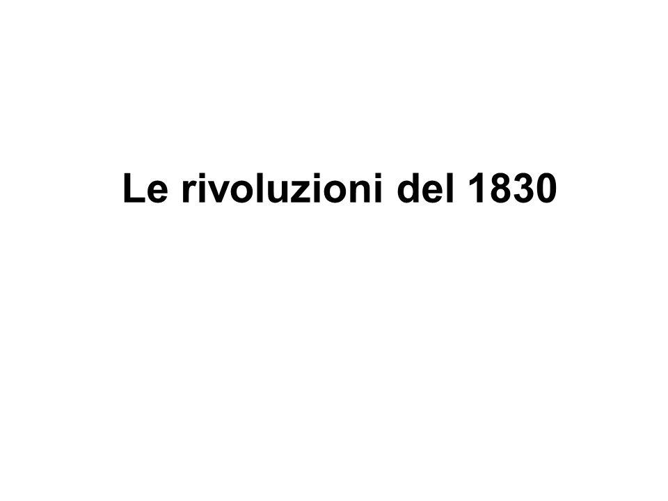 Le rivoluzioni del 1830