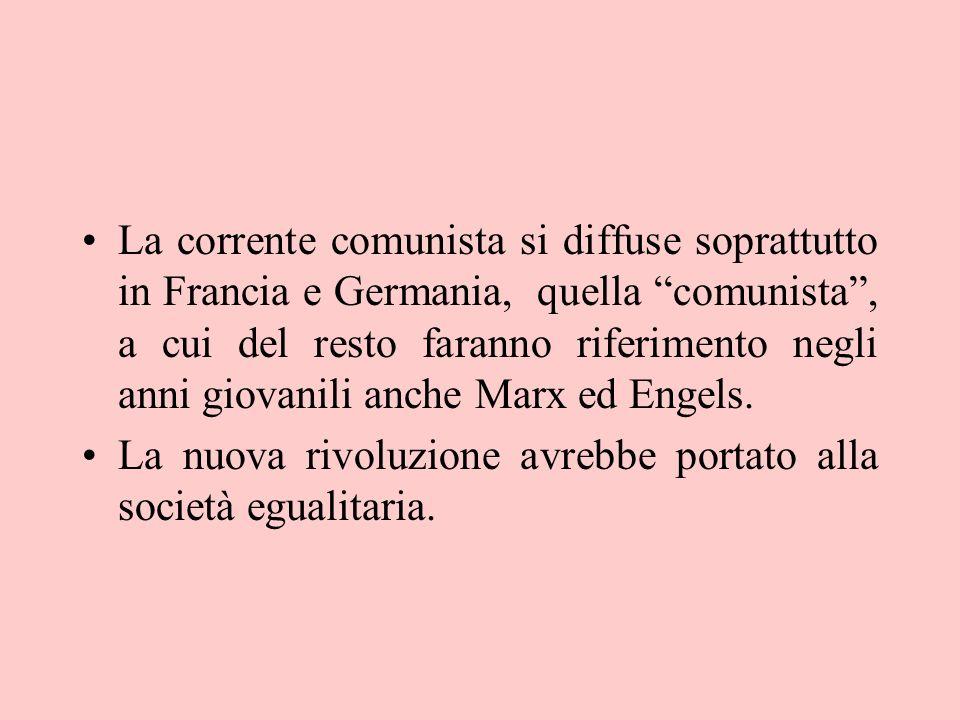 Sansimonismo Il movimento fa riferimento oltre che a Saint- Simon a Fourier Il Falansterio : collettività di vita, (istruzione svaghi, consumi) e di lavoro.