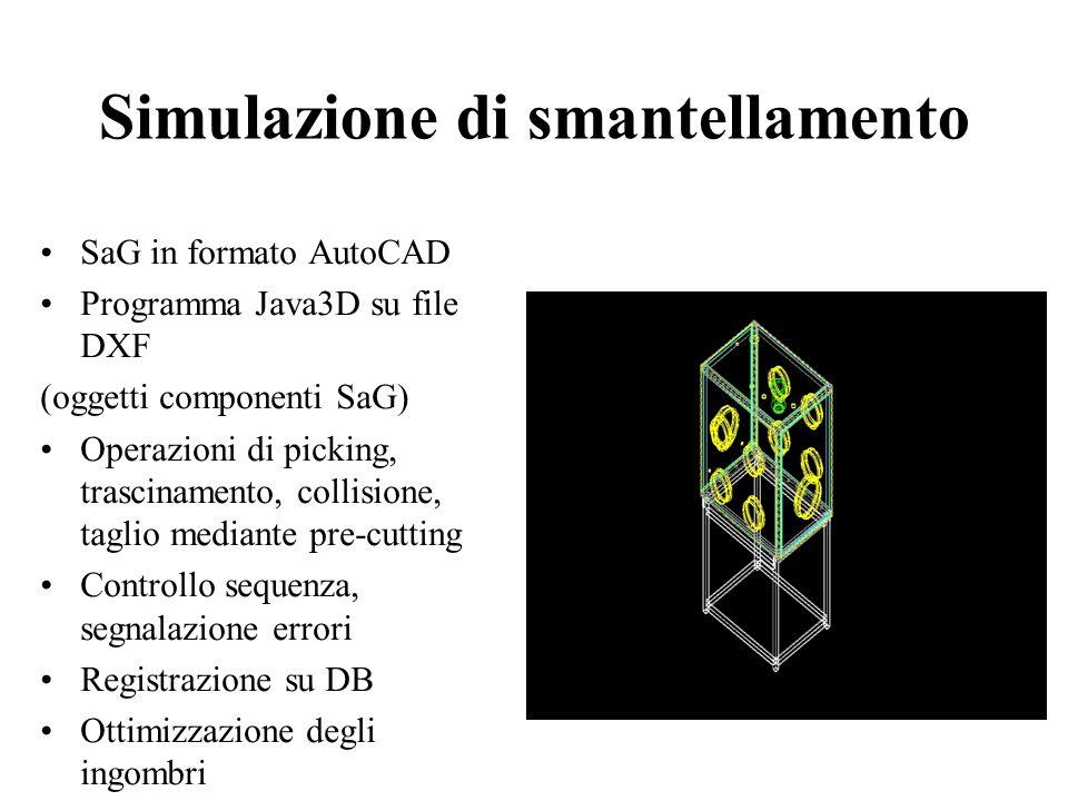 Il sistema VIRTUALDECOM Sviluppato per lo smantellamento delle SaG del laboratorio plutonio (IPU) della Casaccia Una applicazione della realtà virtual