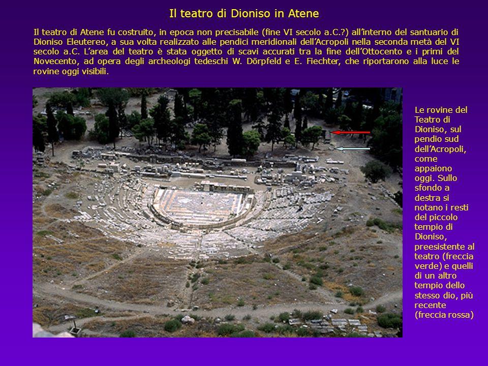Il teatro di Epidauro ci offre una immagine dello stadio di sviluppo cui le costruzioni teatrali erano giunte nel IV secolo a.C., alle soglie delletà
