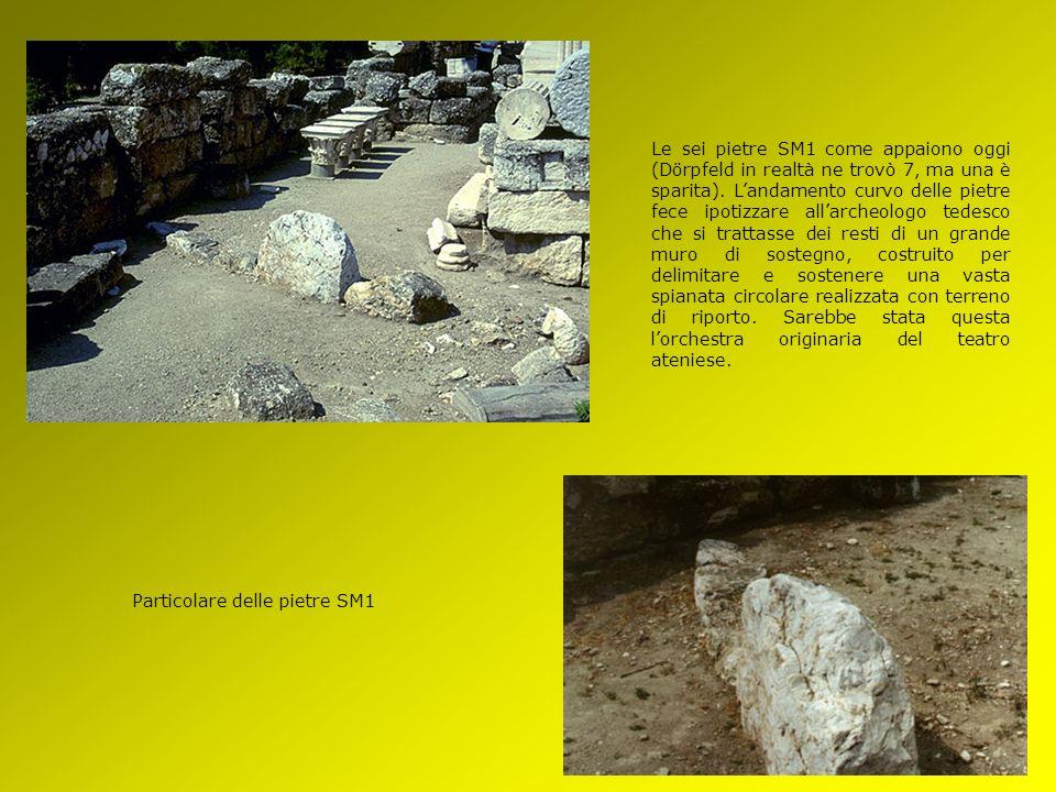 Pianta delle rovine riportate alla luce dagli scavi di Dörpfeld e Fiechter. Il solo elemento che possa essere riportato con buona probabilità al V sec