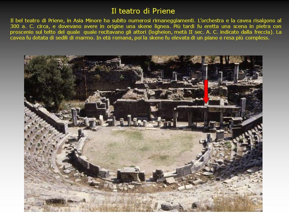 Il teatro di Megalopoli Visione aerea del teatro di Megalopoli in Arcadia, il più grande della terraferma greca (21.000 posti), realizzato nel IV seco