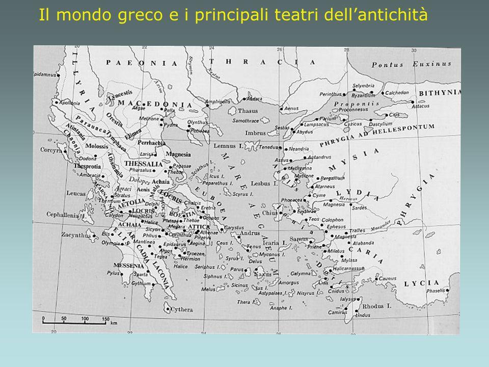 Il mondo greco e i principali teatri dellantichità