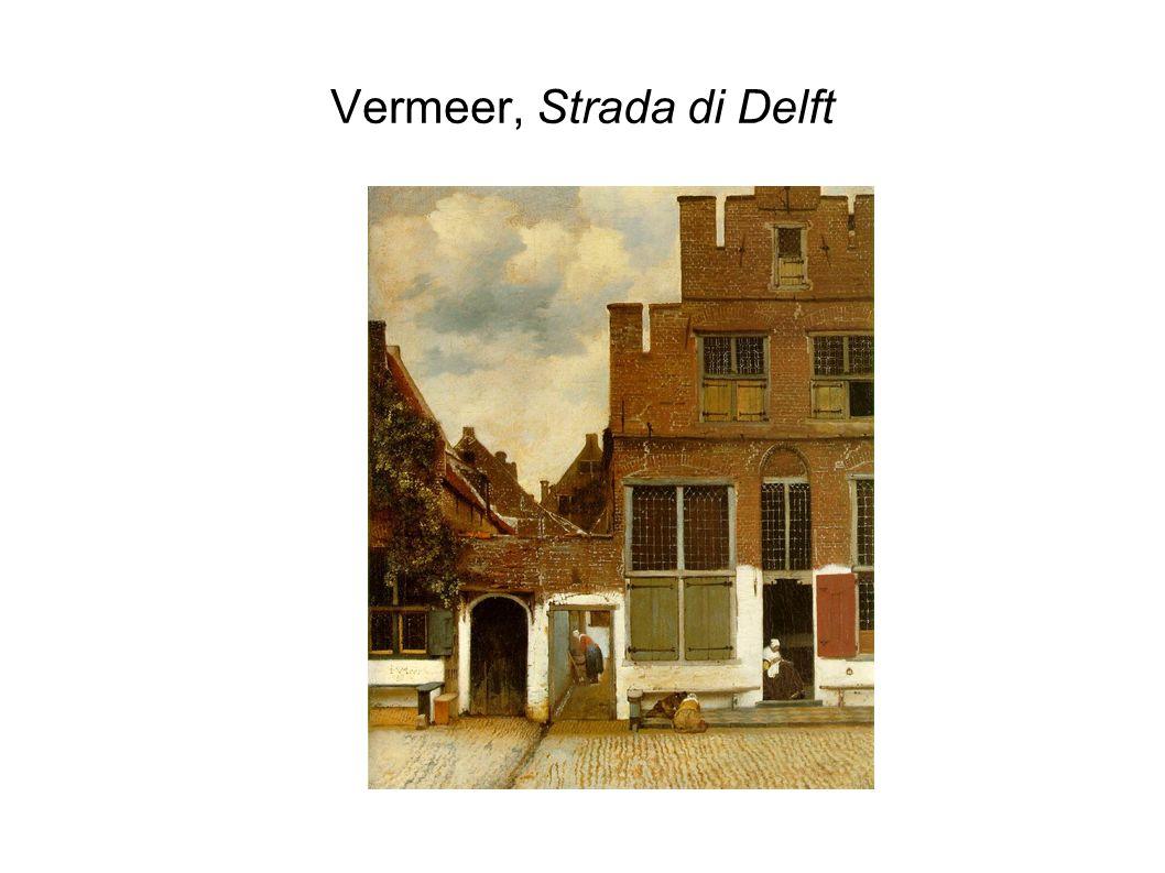 Vermeer, Strada di Delft