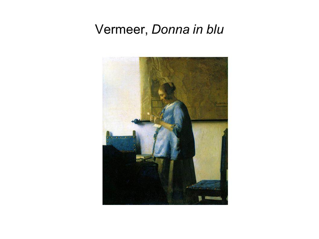 Vermeer, Donna in blu