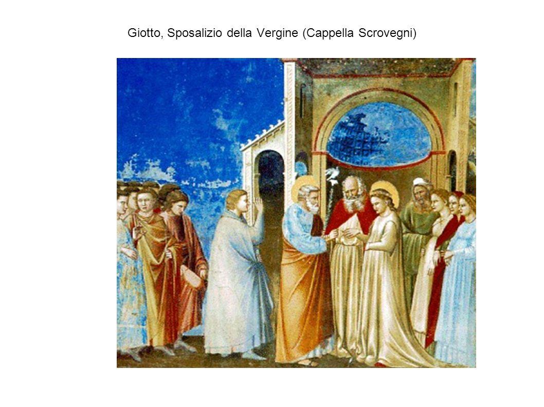 Giotto, Sposalizio della Vergine (Cappella Scrovegni)
