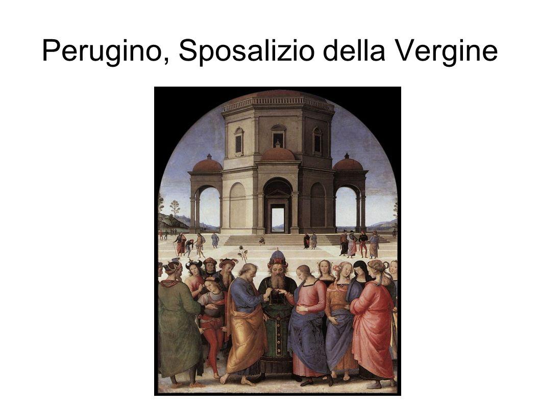 Perugino, Sposalizio della Vergine