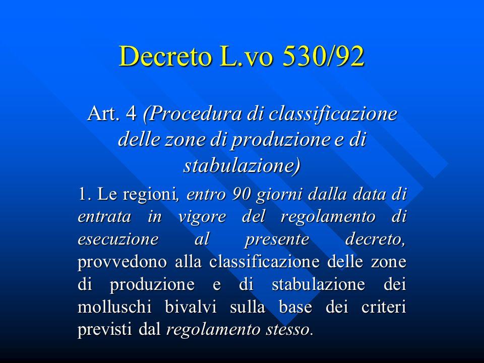 Decreto L.vo 530/92 Art.