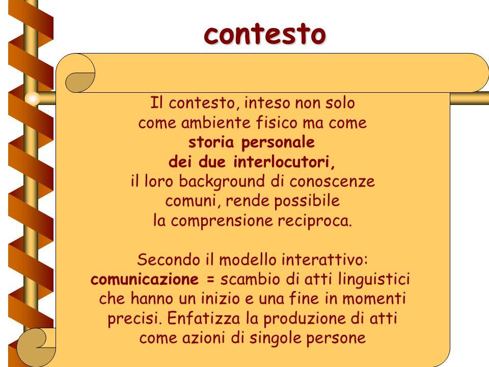 Modello interattivo Introduce il concetto di feedback: la risposta del ricevente comunica allemittente se il messaggio è stato accuratamente recepito