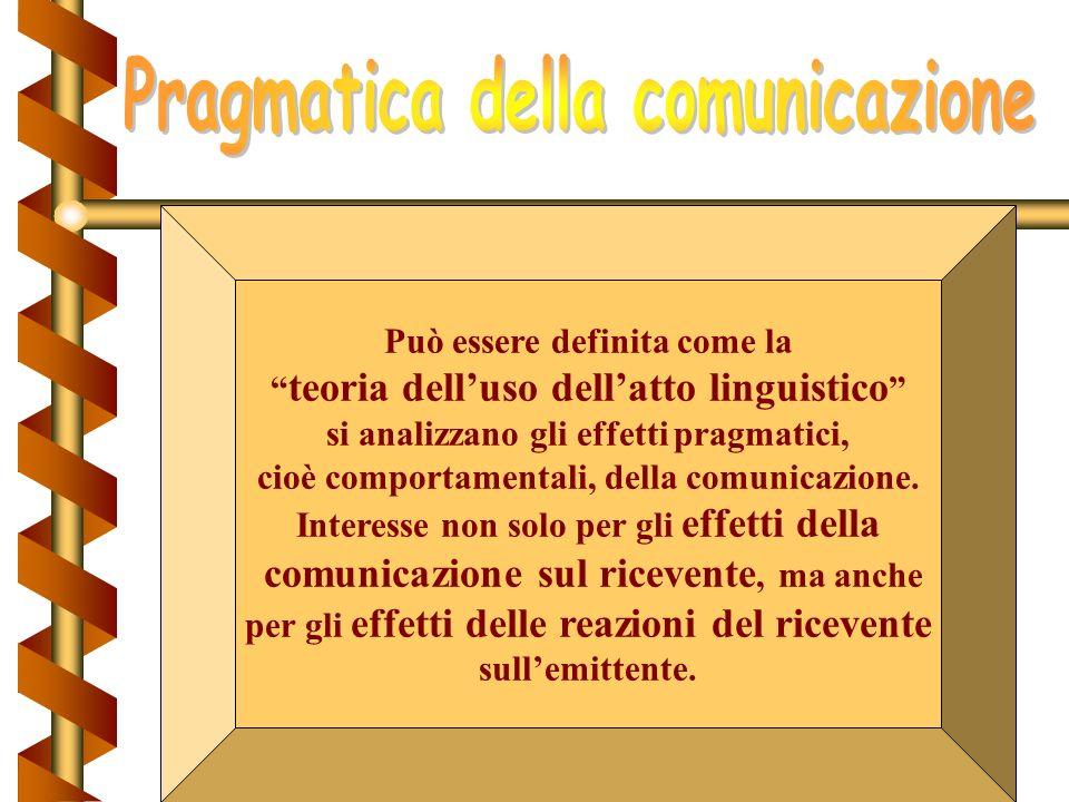 Sottolinea il carattere dialogico delle interazioni comunicative: lemittente è contemporaneamente (e non in momenti diversi) ricevente. emittentericev