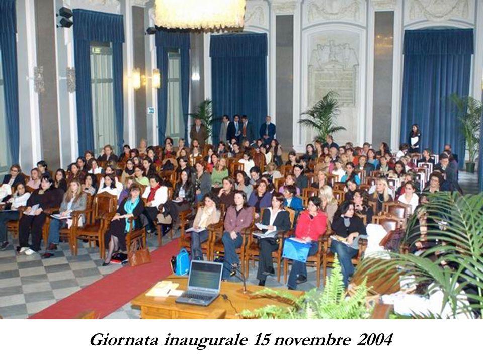 Giornata inaugurale 15 novembre 2004