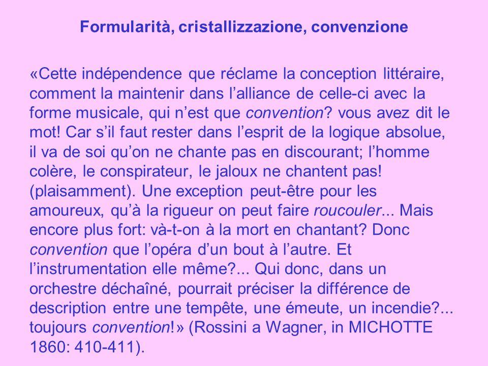 Con il melodramma romantico, il ruolo del musicista diventa sempre più importante, a scapito del ruolo del librettista: Bellini, Donizetti, Verdi e Puccini.