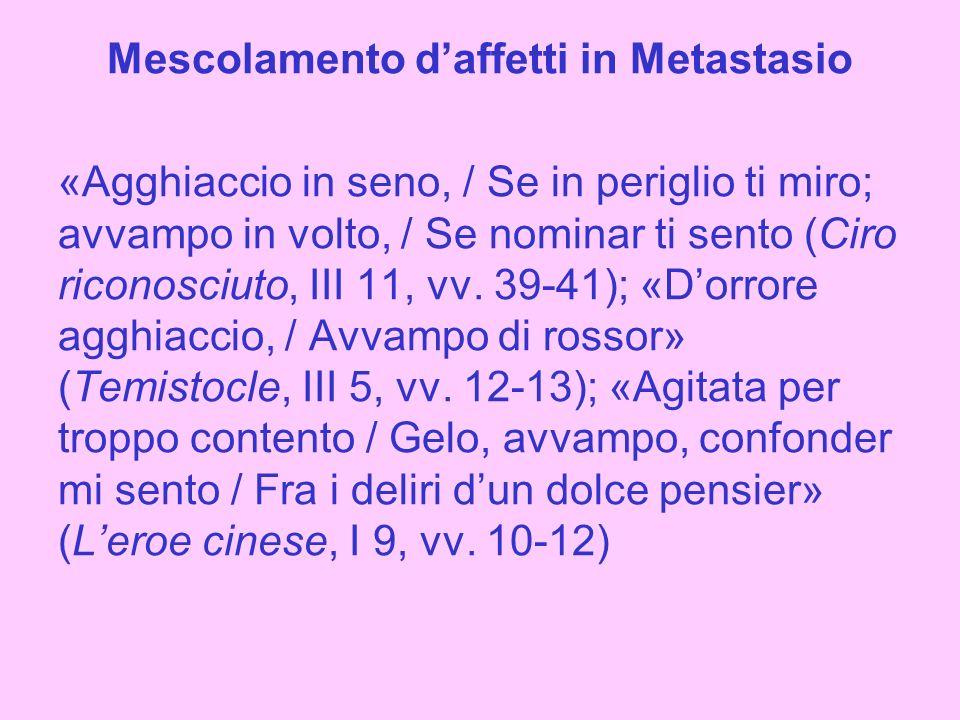 Mescolamento daffetti in Alfieri Sonetto 155, vv.