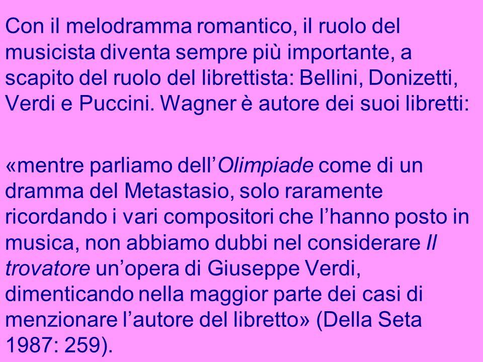 Origine del melodramma: genere pastorale (Tasso, Guarini); madrigale; volontà di ripristinare la convivenza di poesia, scena e musica del teatro greco (Camerata de Bardi).