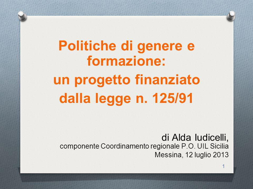 1 di Alda Iudicelli, componente Coordinamento regionale P.O.