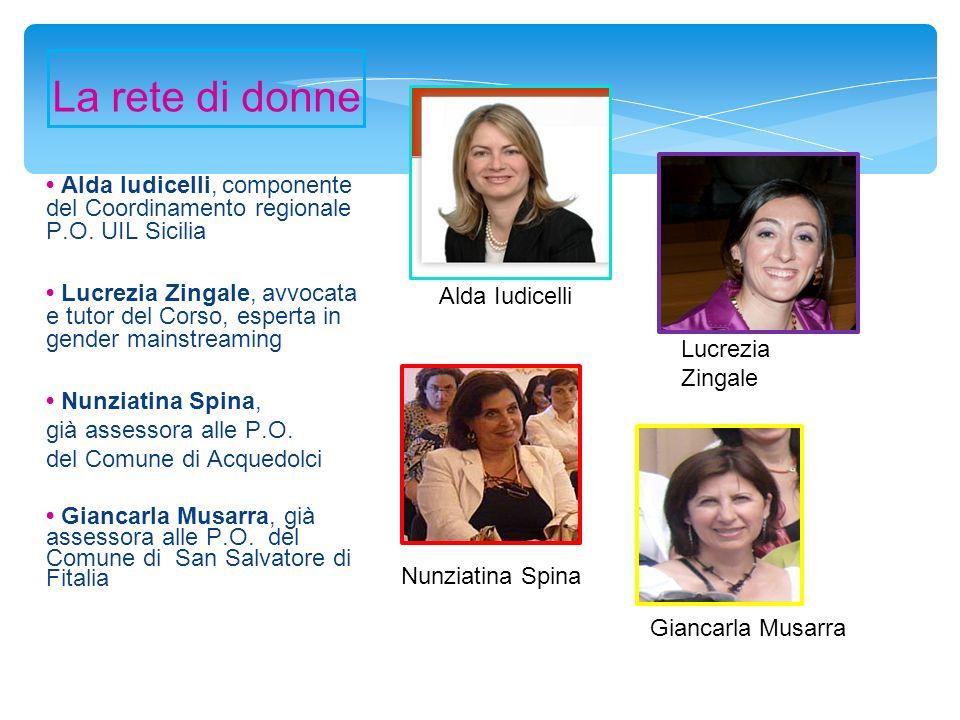 Alda Iudicelli, componente del Coordinamento regionale P.O.