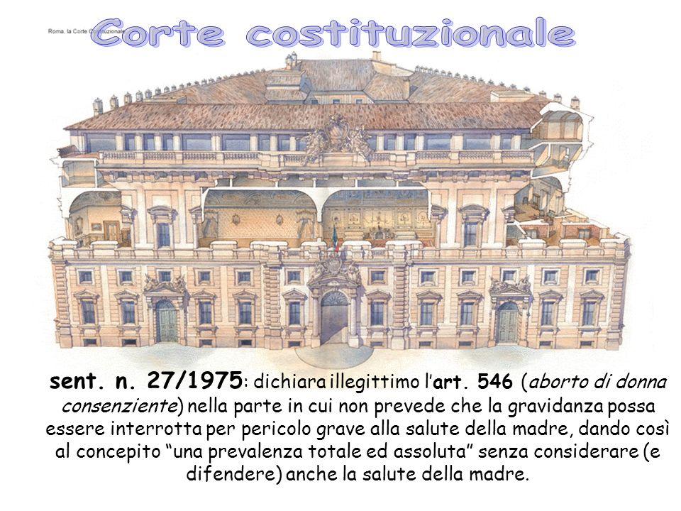 sent.n. 27/1975 : dichiara illegittimo lart.