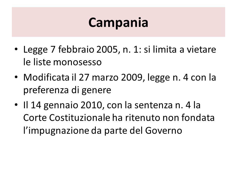 Campania Legge 7 febbraio 2005, n.