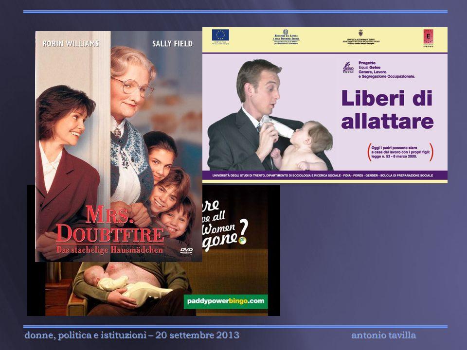 antonio tavilla donne, politica e istituzioni – 20 settembre 2013