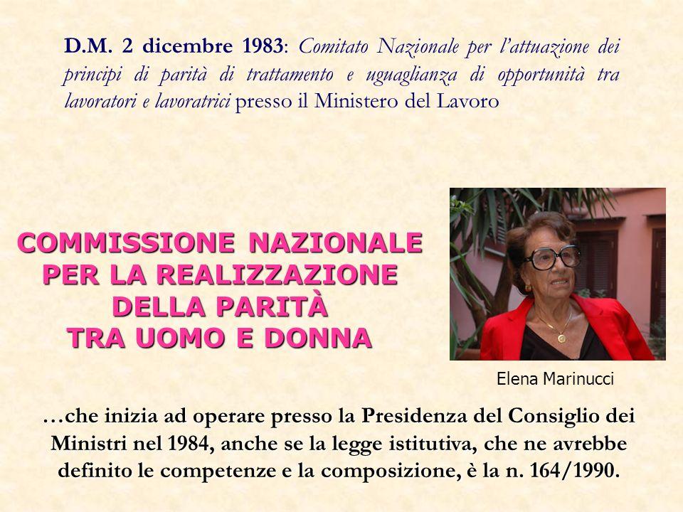 …che inizia ad operare presso la Presidenza del Consiglio dei Ministri nel 1984, anche se la legge istitutiva, che ne avrebbe definito le competenze e la composizione, è la n.