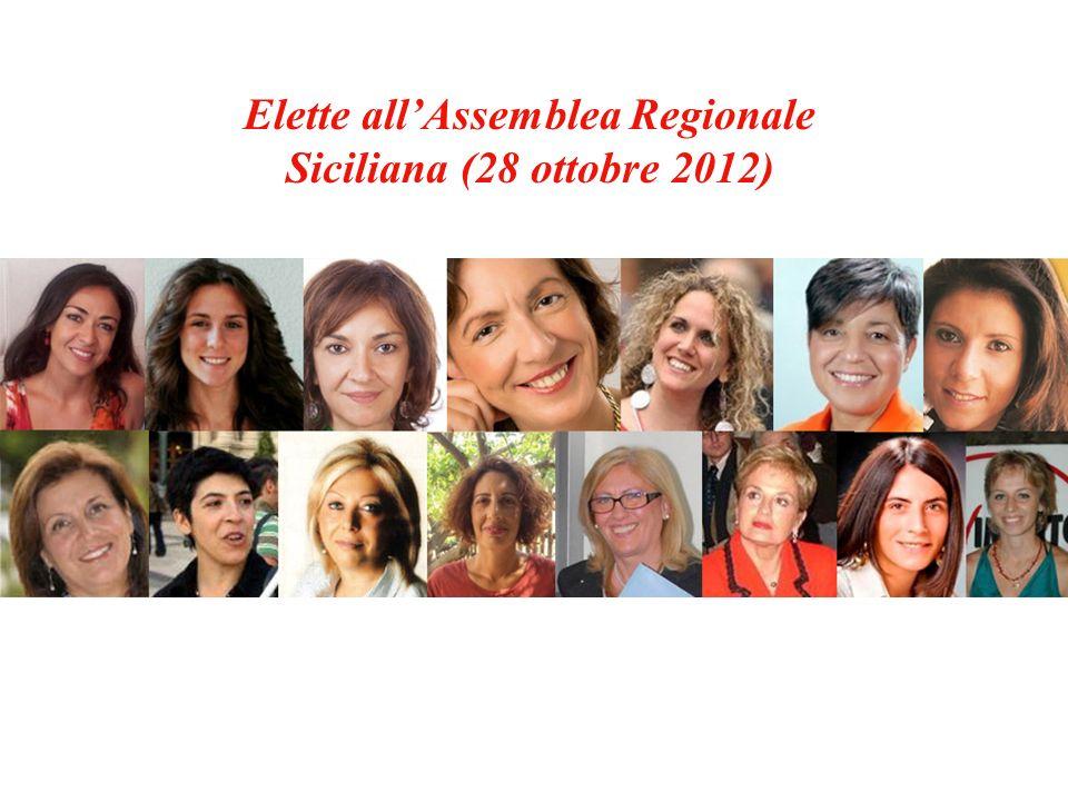 Elette allAssemblea Regionale Siciliana (28 ottobre 2012)