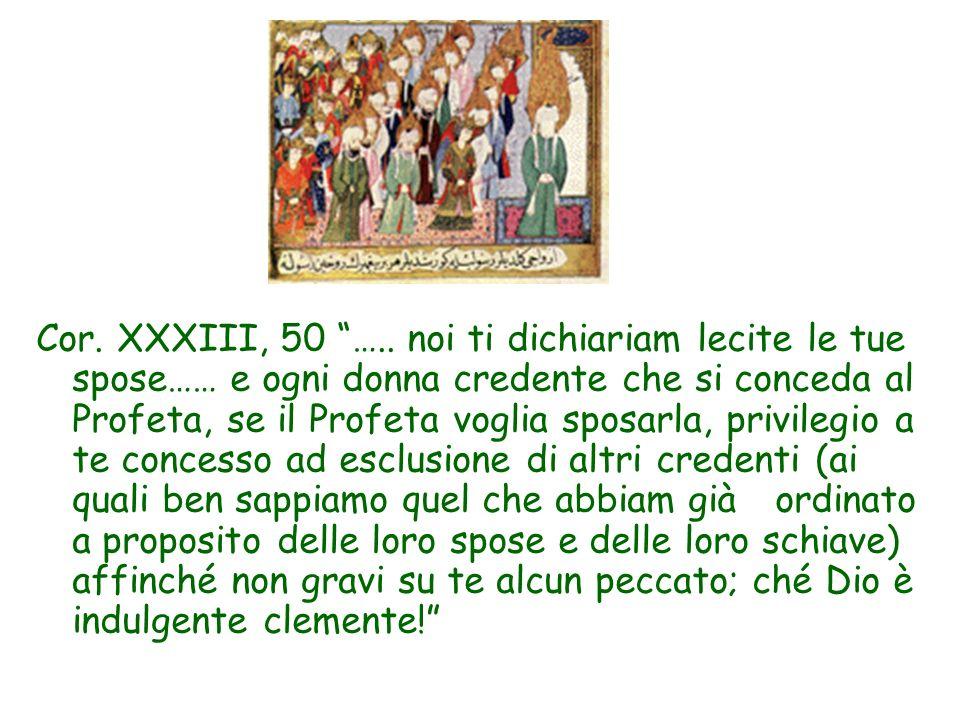 Cor. XXXIII, 50 …..