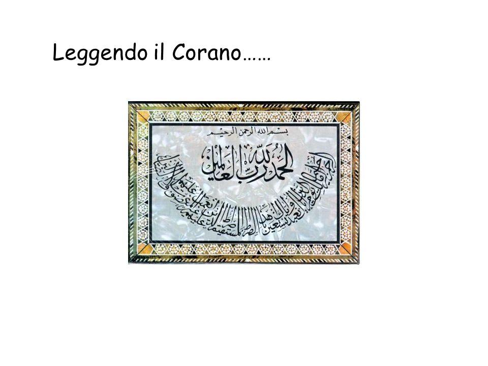 Leggendo il Corano……