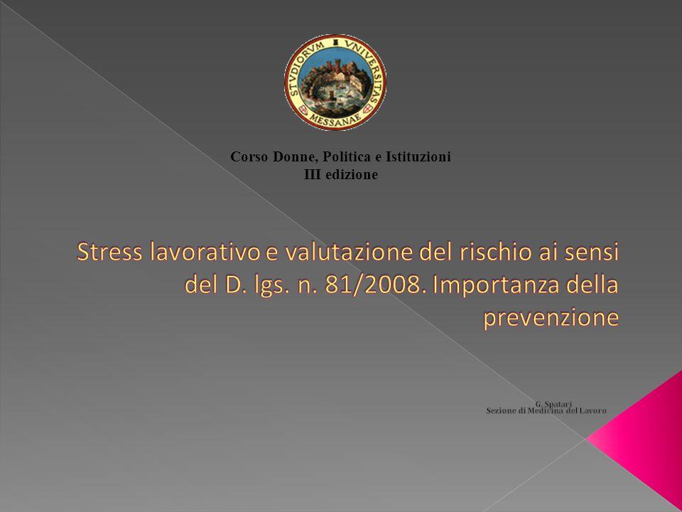 Corso Donne, Politica e Istituzioni III edizione