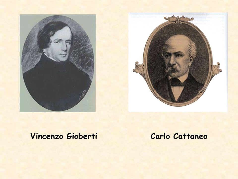 Vincenzo GiobertiCarlo Cattaneo