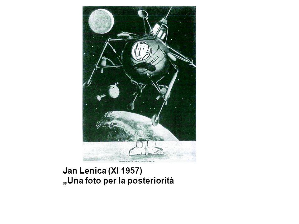 Jan Lenica (XI 1957)Una foto per la posteriorità