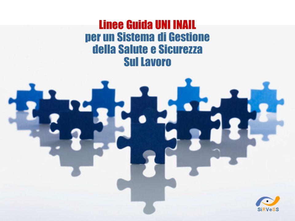 Linee Guida UNI INAIL per un Sistema di Gestione della Salute e Sicurezza Sul Lavoro