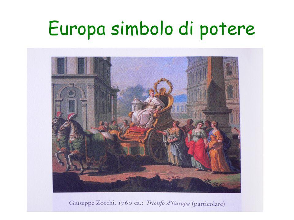 Europa simbolo di potere
