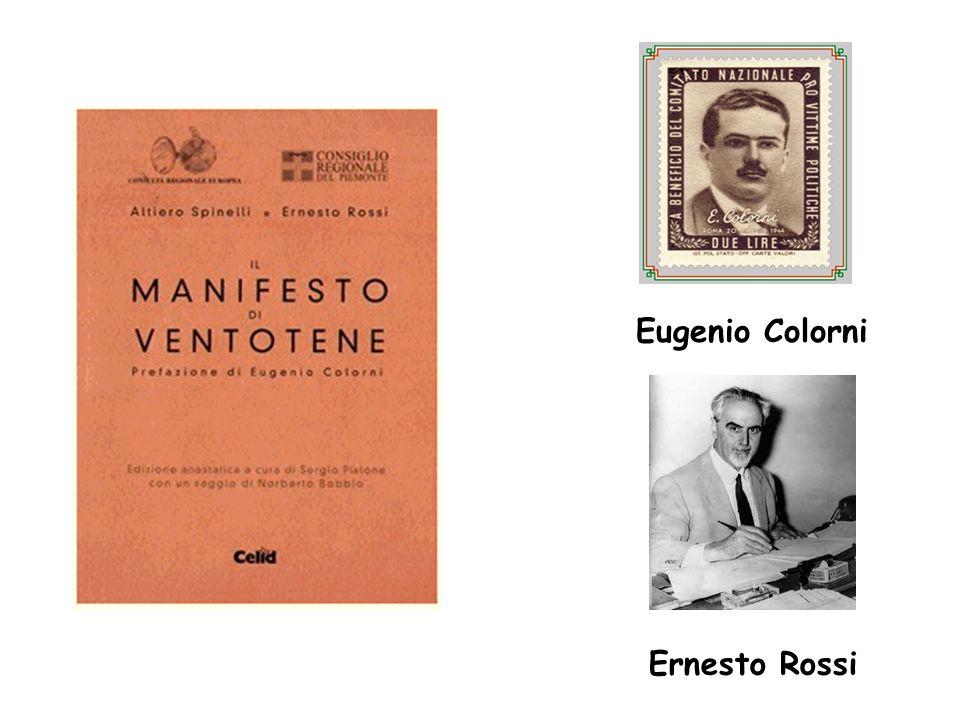 Ernesto Rossi Eugenio Colorni
