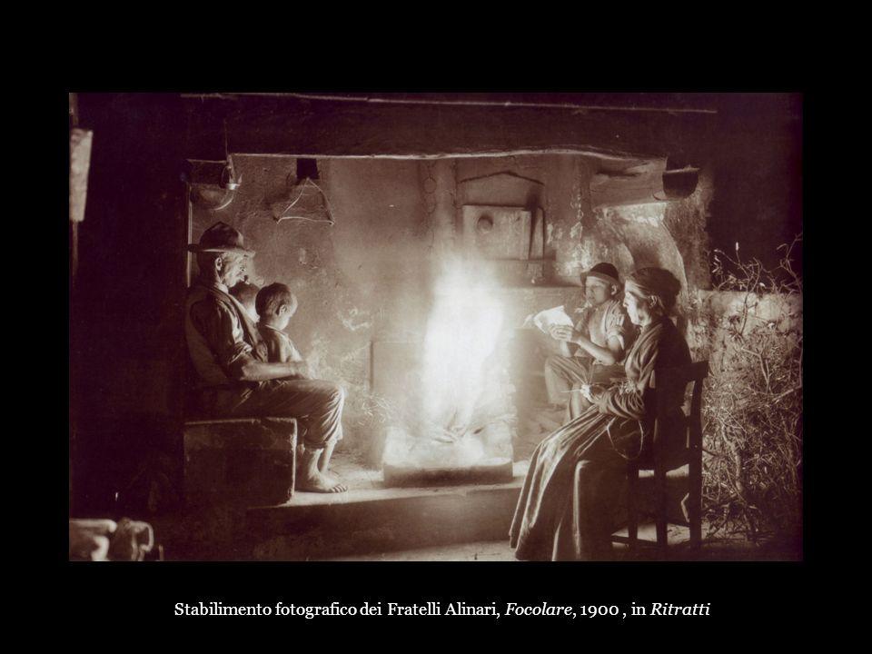 Stabilimento fotografico dei Fratelli Alinari, Focolare, 1900, in Ritratti