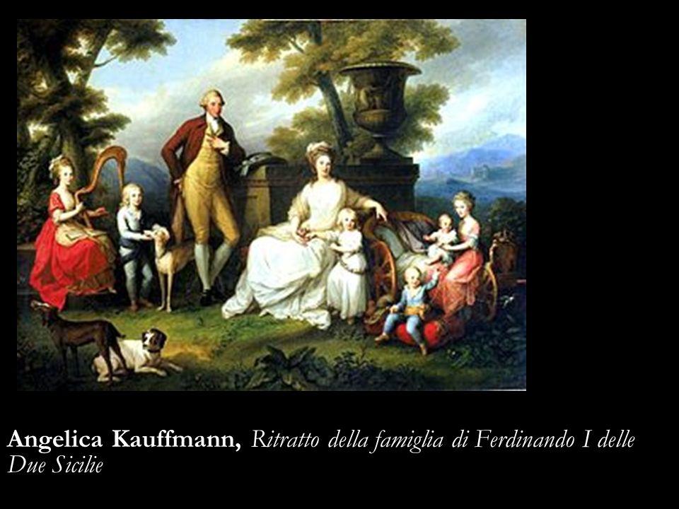 Angelica Kauffmann, Ritratto della famiglia di Ferdinando I delle Due Sicilie