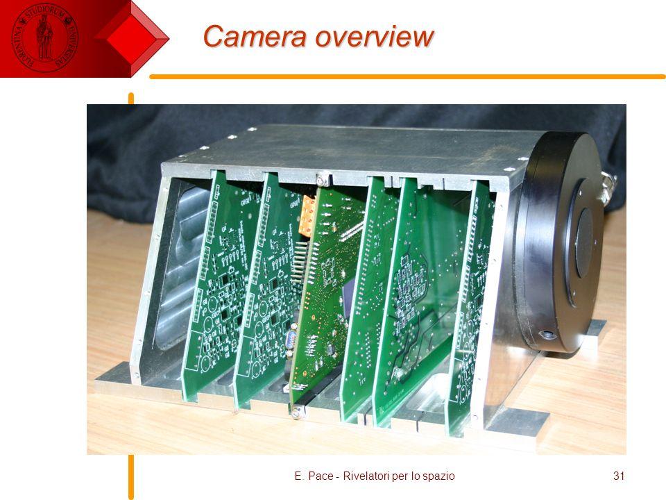 E. Pace - Rivelatori per lo spazio31 Camera overview
