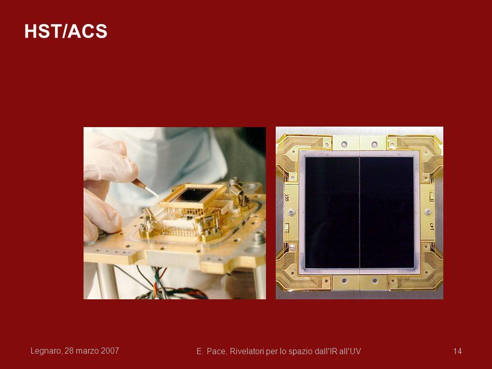Legnaro, 28 marzo 2007 E. Pace, Rivelatori per lo spazio dall'IR all'UV14 HST/ACS