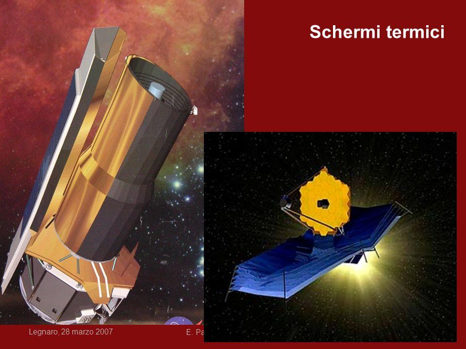 Legnaro, 28 marzo 2007 E. Pace, Rivelatori per lo spazio dall'IR all'UV42 Schermi termici