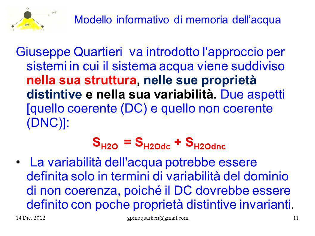 Modello informativo di memoria dellacqua Giuseppe Quartieri va introdotto l'approccio per sistemi in cui il sistema acqua viene suddiviso nella sua st
