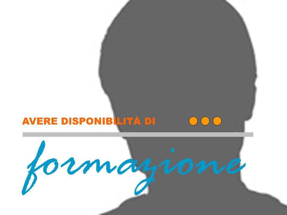 formazione AVERE DISPONIBILITÀ DI Formazione (copertina)
