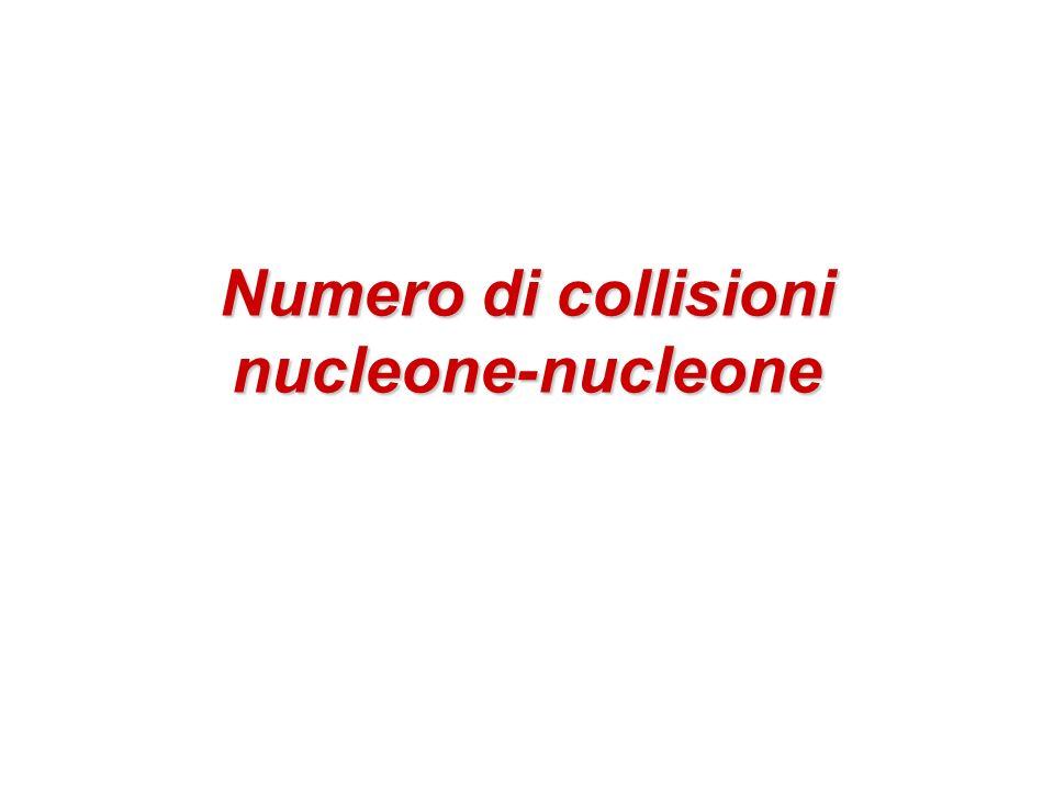 Numero di collisioni nucleone-nucleone