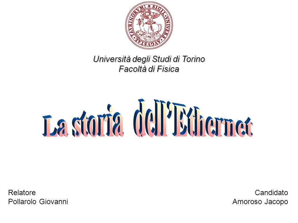 Università degli Studi di Torino Facoltà di Fisica Relatore Pollarolo Giovanni Candidato Amoroso Jacopo