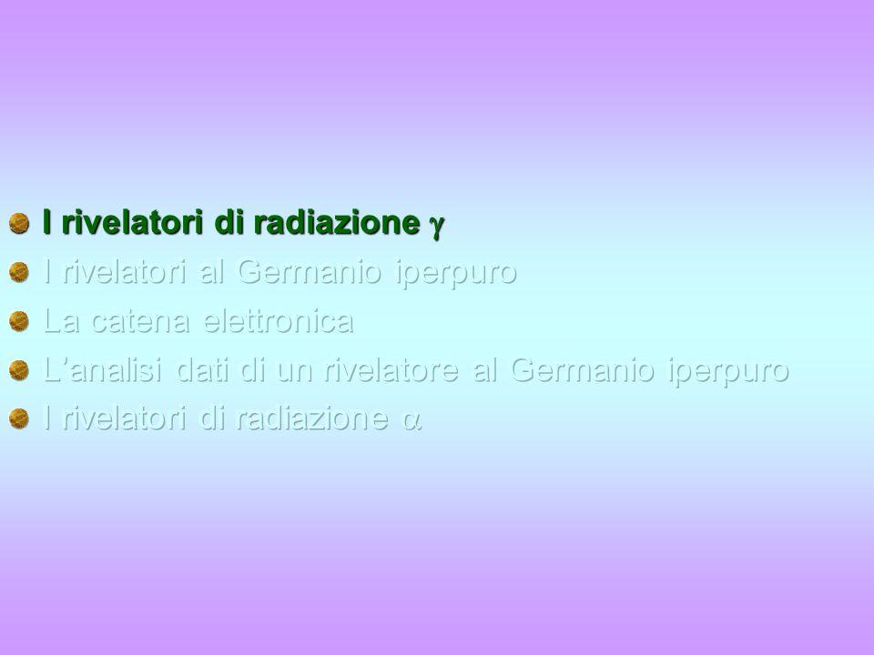 Lezione 2 Corso di laurea in Medicina e Chirurgia ADE – a.a. 2007/82 I rivelatori di radiazione e Come si fa una misura in laboratorio La lezione di o