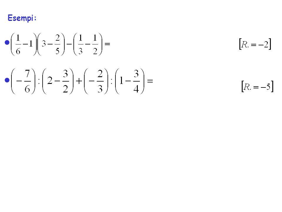 Esempi: risolvere le equazioni rispetto alle variabili evidenziate