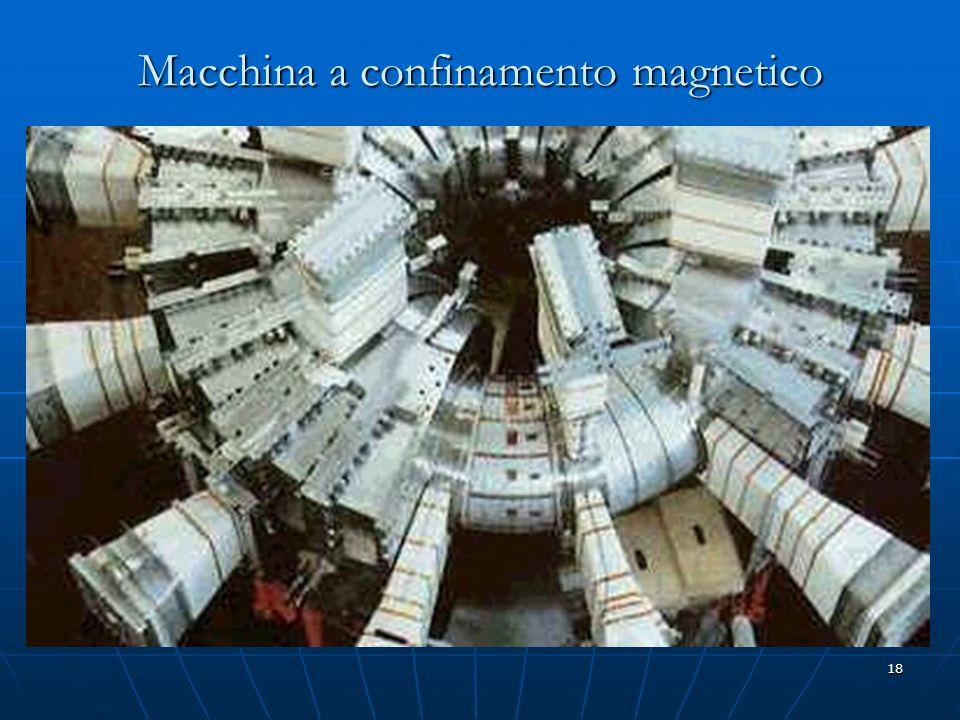 18 Macchina a confinamento magnetico