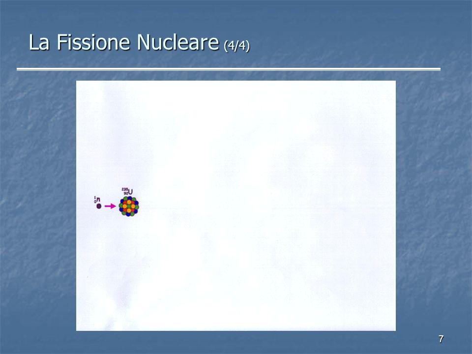 7 La Fissione Nucleare (4/4)