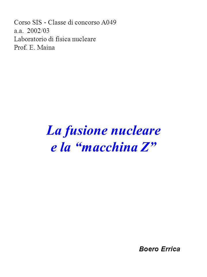 Corso SIS - Classe di concorso A049 a.a.2002/03 Laboratorio di fisica nucleare Prof.
